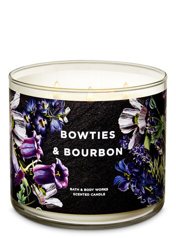 Bowties & Bourbon 3-Wick Candle - Bath And Body Works
