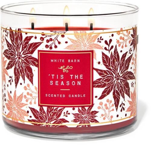 Tis the Season 3-Wick Candle