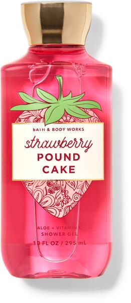 Strawberry Pound Cake Shower Gel