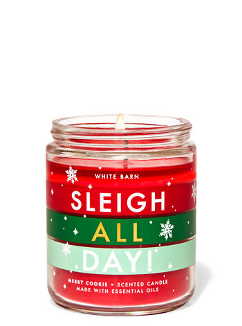 Merry Cookie Single Wick Candle