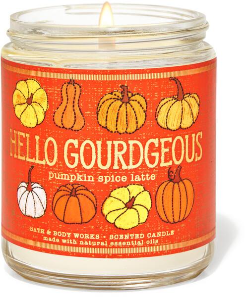 Pumpkin Spice Latte Single Wick Candle