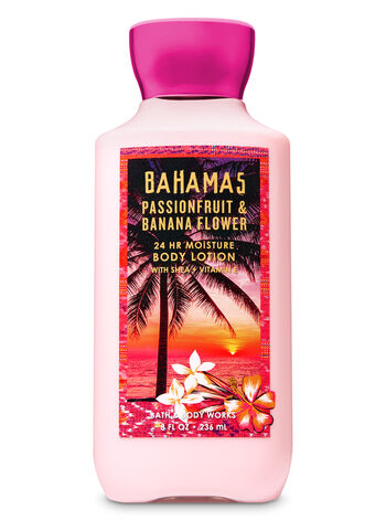 Signature Collection Pink Passionfruit & Banana Flower Super Smooth Body Lotion - Bath And Body Works