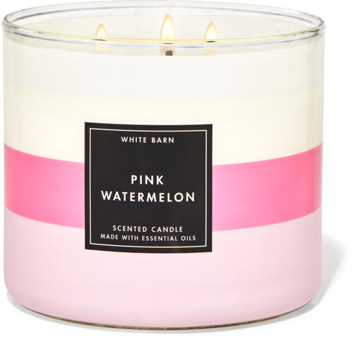 Pink Watermelon 3-Wick Candle