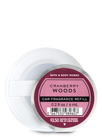 Cranberry Woods Car Fragrance Refill - Bath And Body Works