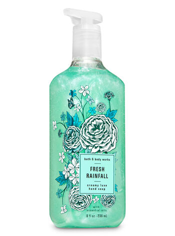 Fresh Rainfall Creamy Luxe Hand Soap - Bath And Body Works