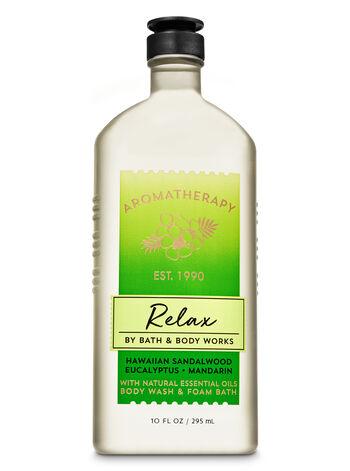 Aromatherapy Hawaiian Sandalwood Eucalyptus Body Wash & Foam Bath - Bath And Body Works