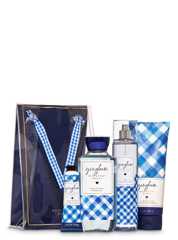 Gingham Gift Set - Bath And Body Works