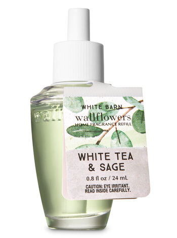 White Tea & Sage Wallflowers Fragrance Refill - Bath And Body Works