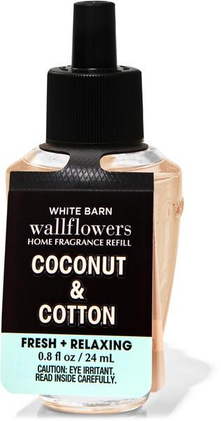 Coconut & Cotton Wallflowers Fragrance Refill