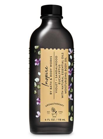 Aromatherapy Violet Sandalwood Eucalyptus Moisturizing Body Oil - Bath And Body Works