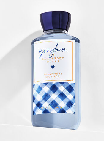 Signature Collection Gingham Shower Gel - Bath And Body Works