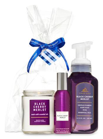 Black Cherry Merlot Sampler Gift Kit - Bath And Body Works