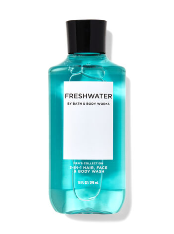 Freshwater 3-in-1 Hair, Face & Body Wash