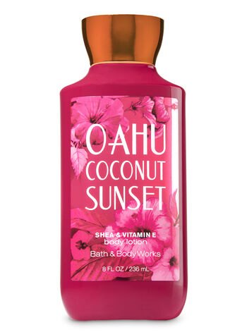Signature Collection Oahu Coconut Sunset Body Lotion - Bath And Body Works