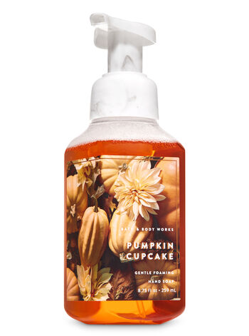 Pumpkin Cupcake Gentle Foaming Hand Soap - Bath And Body Works