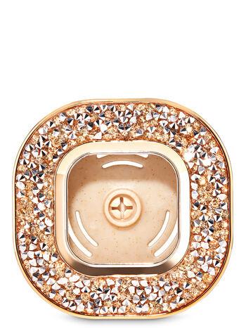 Gold Glitter Vent Clip Car Fragrance Holder