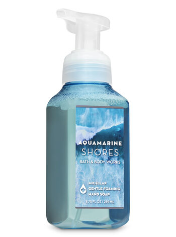 Aquamarine Shores Micellar Gentle Foaming Hand Soap - Bath And Body Works
