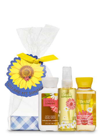 Love & Sunshine You Are My Sunshine Mini Gift Set - Bath And Body Works