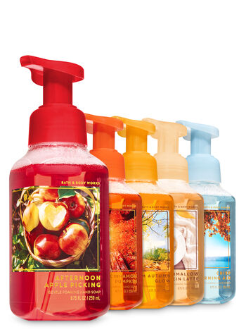 Fall Traditions Gentle Foaming Hand Soap, 5-Pack - Bath And Body Works