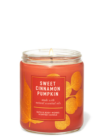 Sweet Cinnamon Pumpkin Single Wick Candle