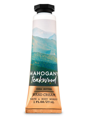 Mahogany Teakwood Hand Cream