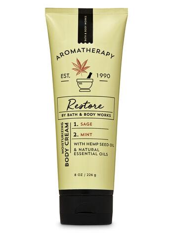 Aromatherapy Sage Mint Body Cream - Bath And Body Works
