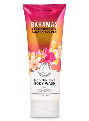 Bahamas Passionfruit & Banana Flower Moisturizing Body Wash - Bath And Body Works