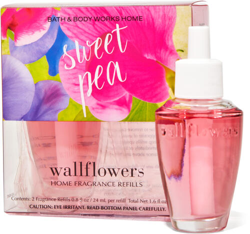 Sweet Pea Wallflowers Refills 2-Pack