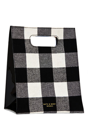 Black & White Buffalo Check Gift Bag