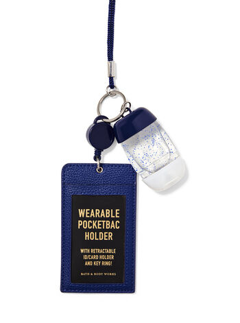 Wearable Navy ID Card PocketBac Holder