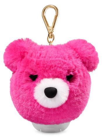 Pink Pom Bear PocketBac Holder - Bath And Body Works