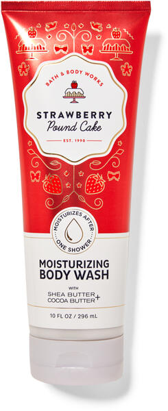 Strawberry Pound Cake Moisturizing Body Wash