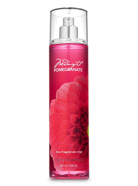 Midnight Pomegranate Fine Fragrance Mist - Signature Collection   Bath & Body Works