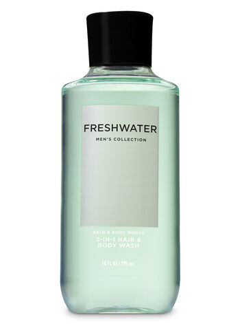 Signature Collection Freshwater 2-in-1 Hair + Body Wash - Bath And Body Works