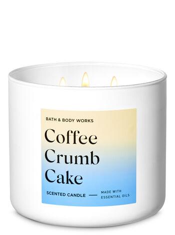 Coffee Crumb Cake 3-Wick Candle - Bath And Body Works