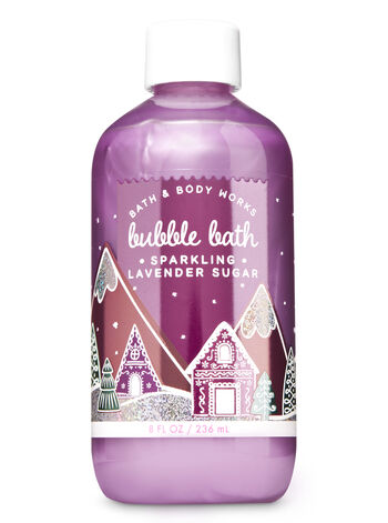 Sparkling Lavender Sugar Bubble Bath - Bath And Body Works
