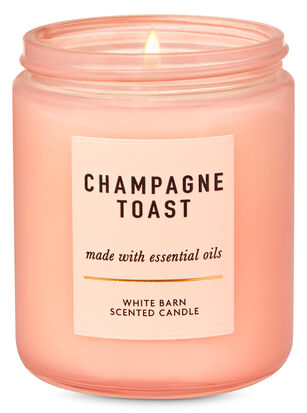 Champagne Toast Single Wick Candle