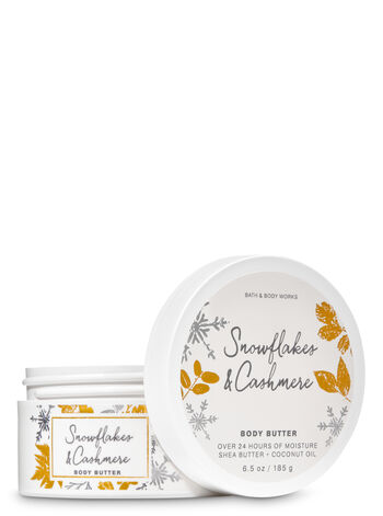 Snowflakes & Cashmere Body Butter - Bath And Body Works
