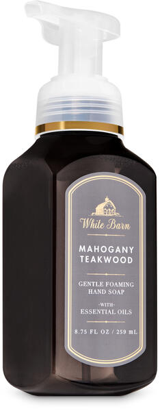 Mahogany Teakwood Gentle Foaming Hand Soap