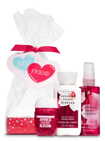 Japanese Cherry Blossom Best Friend Mini Gift Set - Bath And Body Works