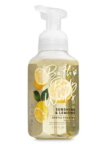 Sunshine & Lemons Gentle Foaming Hand Soap - Bath And Body Works