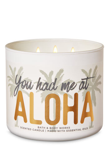 Flamingo Beach 3-Wick Candle - Bath And Body Works
