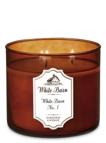 White Barn No 1 3 Wick Candle White Barn Bath Body Works