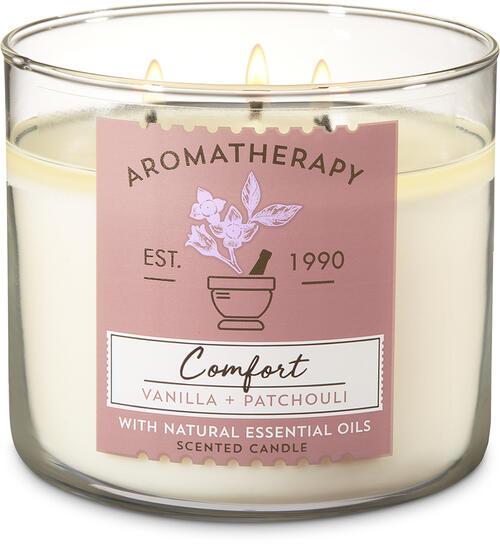 Vanilla Patchouli 3-Wick Candle