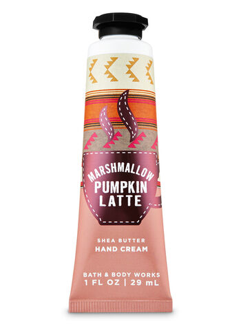 Marshmallow Pumpkin Latte Hand Cream - Bath And Body Works
