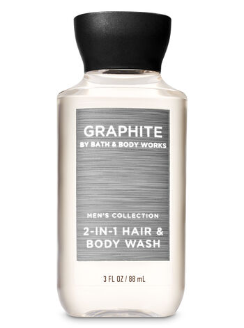 Graphite Travel Size 2-in-1 Hair + Body Wash - Bath And Body Works