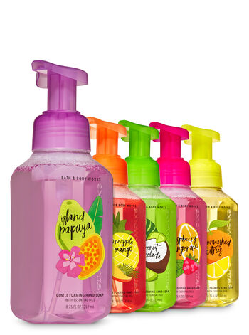 Summer Fruits Gentle Foaming Hand Soap, 5-Pack - Bath And Body Works