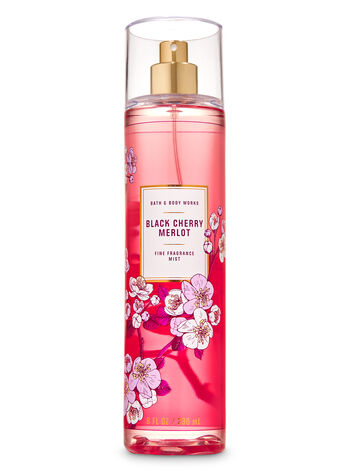 Black Cherry Merlot Fine Fragrance Mist - Bath And Body Works