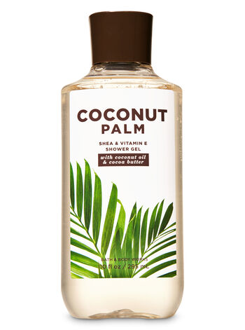 Coconut Palm Shower Gel - Bath And Body Works