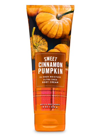 Sweet Cinnamon Pumpkin Ultra Shea Body Cream - Bath And Body Works